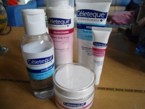 my new favorite - Celeteque products