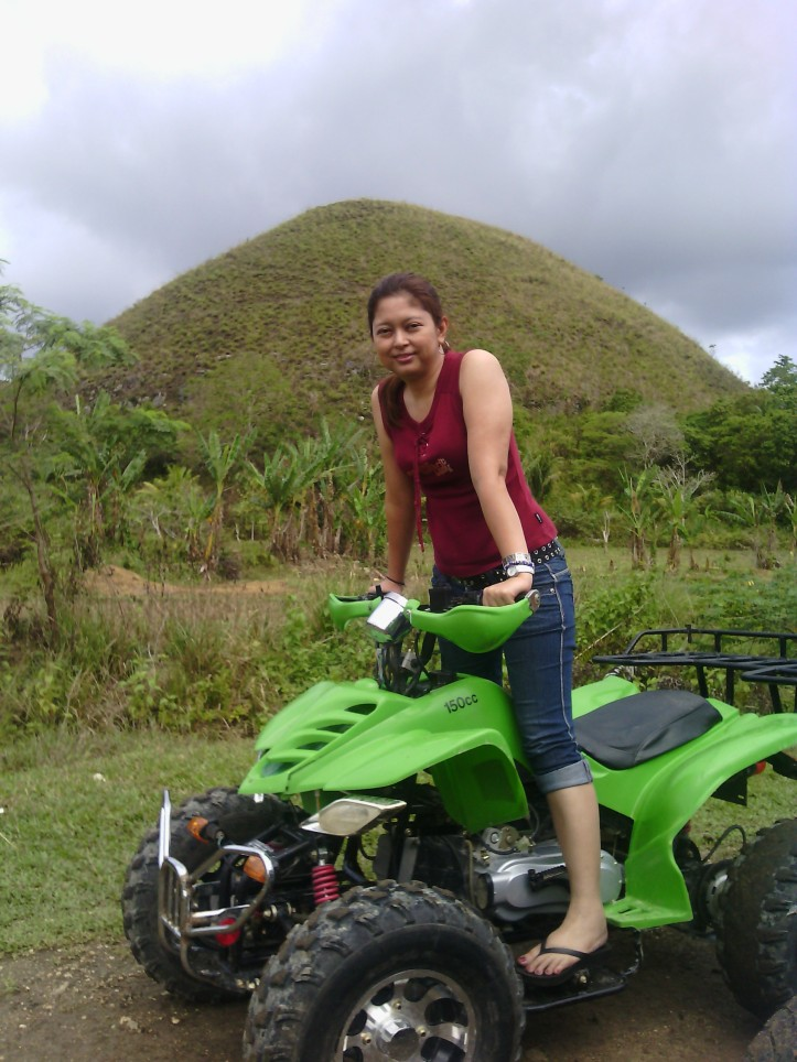 ATV riding at the Chocolate Hills
