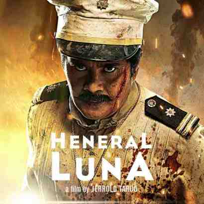 The Heneral Luna movie poster showing actor John Arcilla